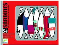 Карточная игра Djeco «Сардины» (DJ05161), фото 1
