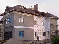 Штукатурка и утепление фасадов