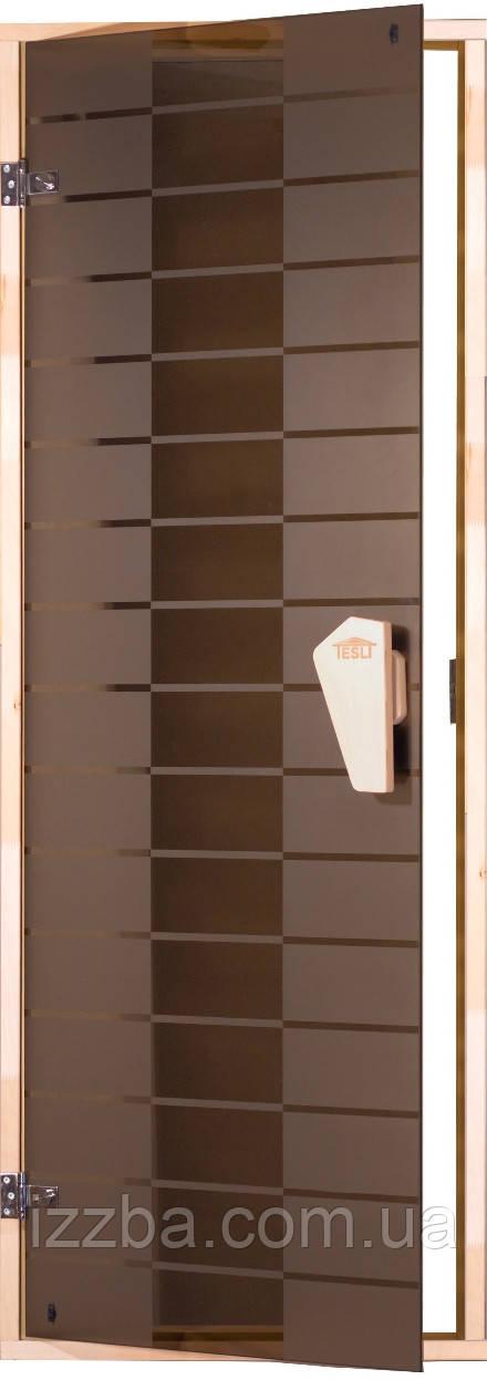 """Дверь для сауны """"Plaza"""""""