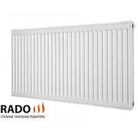 Радиатор панельный 22 тип 500H*400L RADO Украина, боковое
