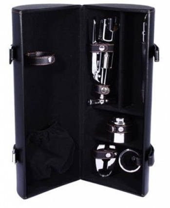 Изысканный набор для вина 5 предметов Tong LCB-B01(5PC-11A) черный, фото 2