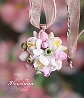 """""""Романтика"""" авторский кулон/колье с цветами ручной работы , фото 1"""