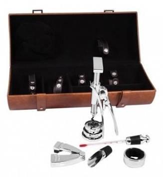 Эксклюзивный набор для вина 5 предметов Tong LCB-BB(5PC-08A) коричневый