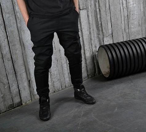 Штаны чинос котоновые, стильные(черные), фото 2