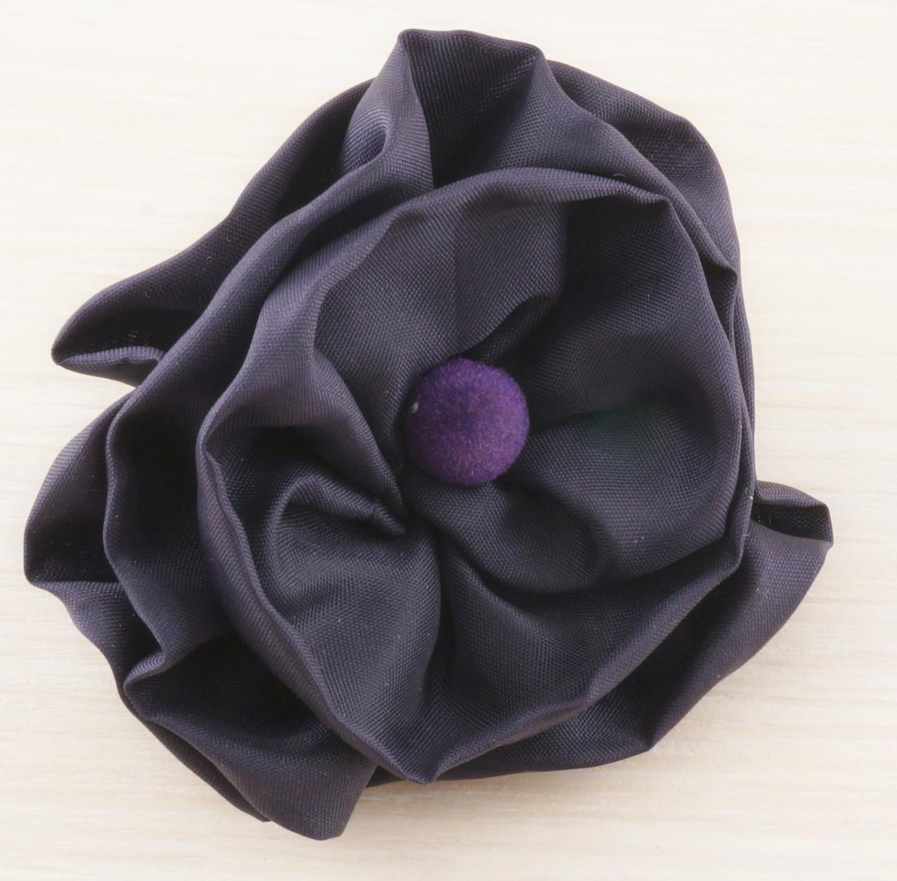 Брошь цветок фиолетовый 80мм (товар при заказе от 200 грн) - магазин-студия Цацки в Чернигове