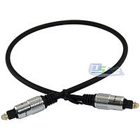Оптический аудио кабель TosLink-Toslink, 1,0 метр