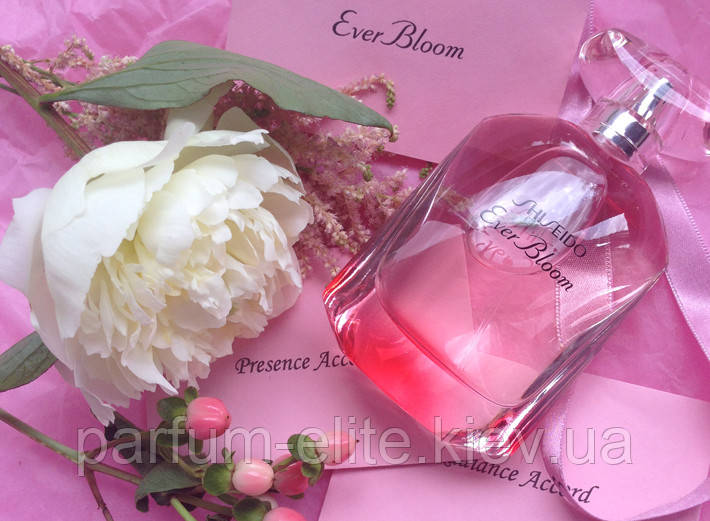 """Женская парфюмированная вода Shiseido Ever Bloom 50ml - Интернет-Магазин """"Parfum Elite"""" в Киеве"""