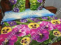 Постельное белье бязь люкс - евро комплект (0791)