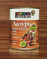 Лак Лазурь Деревозащитное средство + УФ-Фильтр 0,75 кг орех