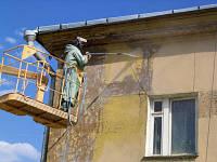 Отделка фасадов покраска