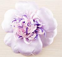 Брошь цветок фиолетовый 110мм