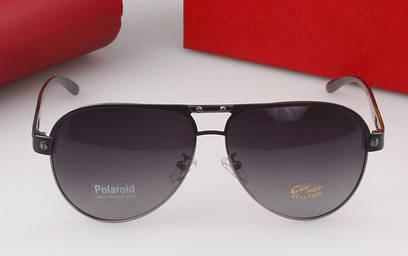 Солнцезащитные очки Cartier (0690) dark silver SR-146