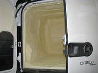 Напыление ППУ. Пенополиуретан - Термоизоляция автомобилей, фургонов и другой авто техники