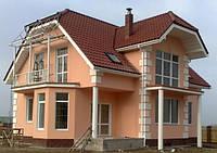 Покраска оштукатуренных фасадов