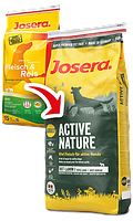 Josera Active Nature корм для взрослых активных собак, 4 кг