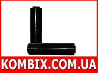 Стрейч пленка черная 166 метров: вес 1,5 кг|0,2 кг втулка, фото 1