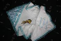 """Крыжма для крещения мальчика """" Ангел """" подарочная , фото 1"""