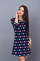 Платье мод. 237-15,размер 46 фукция с черным, фото 1