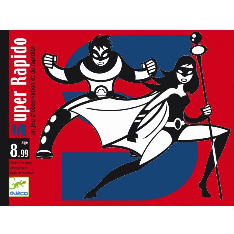 Карточная игра Djeco «Супер Рапидо» (DJ05198)