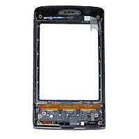 Сенсорный экран для телефона SONY ERICSSON XPERIA X10 mini черный COMP