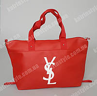"Женская сумка ""Yves Saint Laurent"" красного цвета"