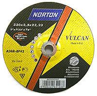 Круг отрезной по алюминию Norton Vulkan 230x2.0x22.2