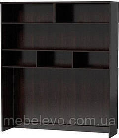 Надставка Аманда ТВ 1500 1734х1500х390мм венге темный   Мебель-Сервис