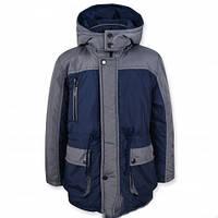 Куртка -парка демисезонная для мальчика