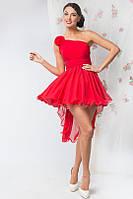 Пышное выпускное платье короткое