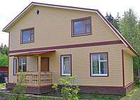 Фасадная отделка домов сайдингом