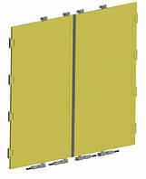 Алюминиевая задняя дверь с аксессуарами