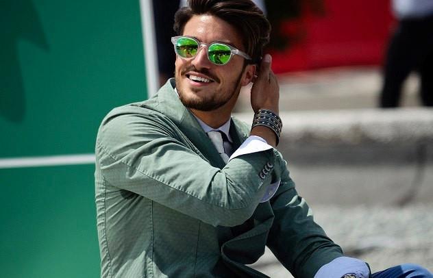 Мужские очки с зеркальной линзой