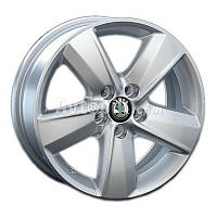 Литые диски Replay Skoda (SK40) R15 W6 PCD5x100 ET38 DIA57.1 (silver)
