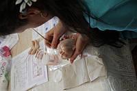 Фото отчёт с курса Оксаны Сальниковой в Студии куклы 08.03.2016г.