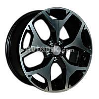 Литые диски Replay Subaru (SB22) R18 W7 PCD5x100 ET48 DIA56.1 (BKF)