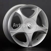 Литые диски Replay Renault (RN5) R14 W5.5 PCD4x100 ET43 DIA60.1 (silver)