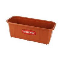 Ящик балконный для цветов терракотовый 40 см Curver