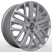 Литые диски Storm WR-M0001 (Volkswagen) R15 W6 PCD5x100 ET38 DIA57.1 (silver)