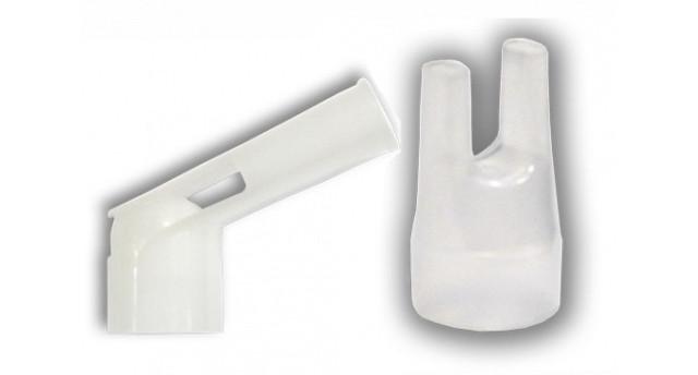 загубник и насадка для носа (назальная канюля) для омрон с28