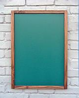 Доска меловая для кафе, 50 х 70 см, зеленая, фото 1