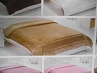 Покрывало бамбуковое Велюр-махра, золотистое, фото 1