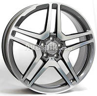 Литые диски WSP Italy Mercedes (W759) AMG Vesuvio R19 W8.5 PCD5x112 ET30 DIA66.6 (anthracite polished)