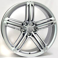 Литые диски WSP Italy Audi (W560) Pompei R19 W8.5 PCD5x112 ET32 DIA66.6 (silver)