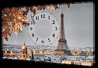 Часы на холсте 30 х 53 см
