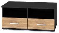 Мебель-Сервис Аманда тумба ТВ 1000 436х1000х527мм венге темный + зебрано
