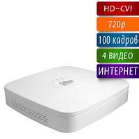 DH-HCVR4104C-W-S2 видеорегистратор HD-CVI на 4 камеры 720p