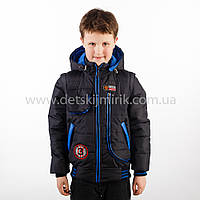"""Демисезонная куртка на мальчика """"Магнус""""  оптом и в розницу"""