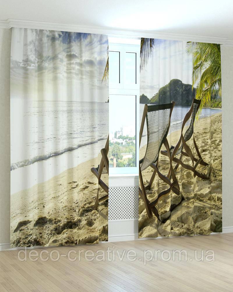 Фотошторы пейзаж возле моря