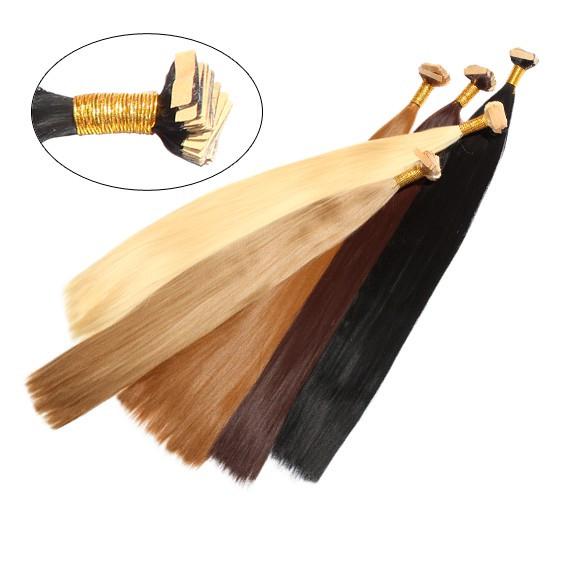 Искусственные волосы на полимере Гладкий шелк 50 см Lady Victory 100г LDV SHB-CS /57-32