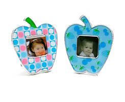 """Магнит на холодильник """"Фоторамка яблоко"""" (10Х8,5 см)"""